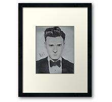 Justin Timberlake 2 Framed Print