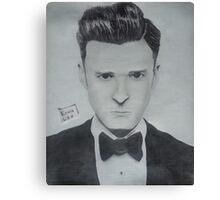 Justin Timberlake 2 Canvas Print