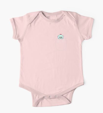 Cute pet baby animal in your pocket One Piece - Short Sleeve