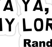 "South Park Lorde ""Randy 3:16"" Sticker"
