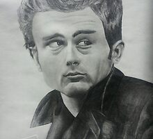 James Dean by King Leo
