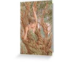 Woodland Nymph Greeting Card
