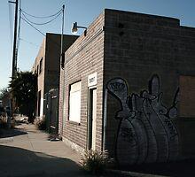 Blue Sky Graffiti by randomoasis