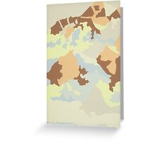 Arctic Desert 3 Greeting Card