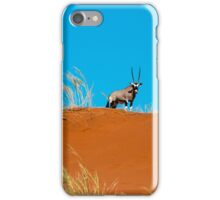 Oryx on an African Hill iPhone Case/Skin