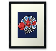 Bullet Punch! Framed Print