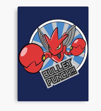 Bullet Punch! Canvas Print