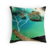 Rain and rain and rain Throw Pillow