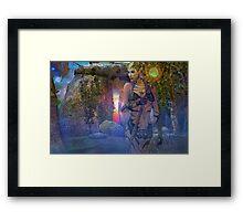 woodland nymph Framed Print