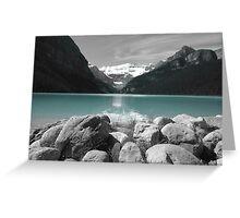 Glacier Water Greeting Card