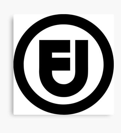 Fair use logo Canvas Print