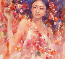 Ophelia  by vasenoir