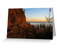 Cinque Terre Sunsets Greeting Card