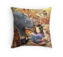 Everyone Loves a Good Book Throw Pillow
