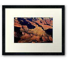 Grand Canyon Light - Arizona Framed Print