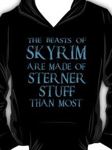 Beasts of Skyrim - blue T-Shirt