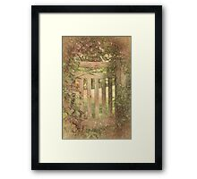 Closed by Nature Framed Print