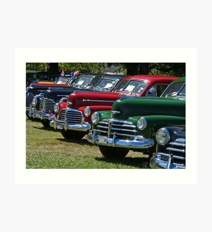 Historic Vehicles Art Print
