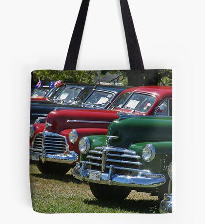 Historic Vehicles Tote Bag