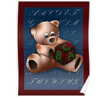 ABC Teddy Poster