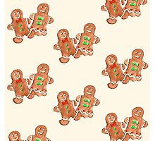 Gingerbread People Photographic Print