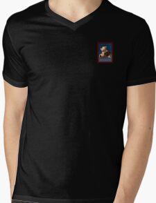 ABC Teddy Mens V-Neck T-Shirt