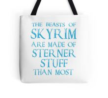 Beasts of Skyrim - blue Tote Bag