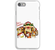 Merry Smashmas iPhone Case/Skin