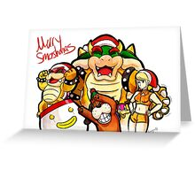 Merry Smashmas Greeting Card