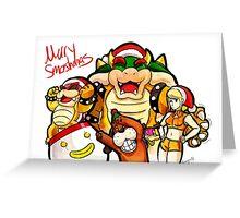 Merry Smashmas Greeting Card