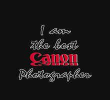The Best Canon Photographer Unisex T-Shirt