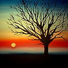 Tree Silhouette by Cherie Roe Dirksen