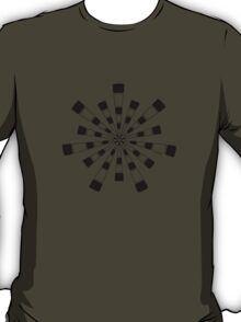 Mandala 31 Back In Black T-Shirt