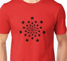 Mandala 31 Back In Black Unisex T-Shirt