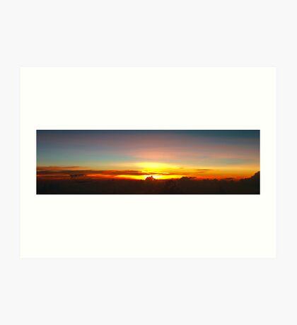 Philippine Sunset Art Print