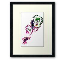 Gambit/Joker Mashup Framed Print