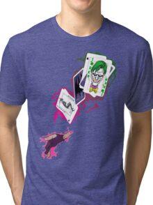Gambit/Joker Mashup Tri-blend T-Shirt