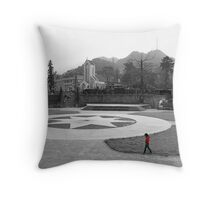 Sapa Square Throw Pillow