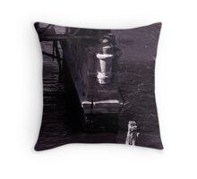 Glebe Island Bridge - Retired Throw Pillow