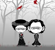 Little Sir Thomas Sharpe & Sister by HashGenius