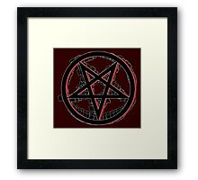 Agent of Chaos Framed Print