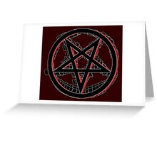 Agent of Chaos Greeting Card