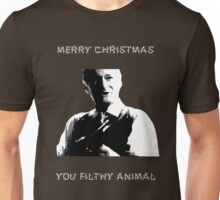 Merry Christmas You Filthy Animal Unisex T-Shirt