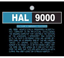 HAL 9000 Black Edition Photographic Print