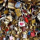 Love Locks in Paris by Ludwig Wagner