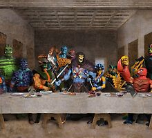 He-Man Villains Epic Last Supper by Gumley