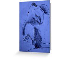 Elephant World  Greeting Card