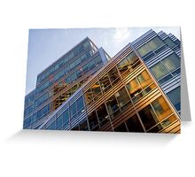 City Reflection Greeting Card