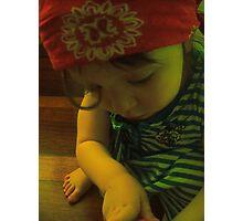 Little gypsy girl Photographic Print