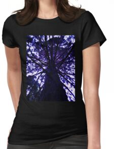 Purple Tree Womens Fitted T-Shirt